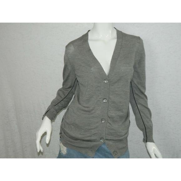 3.1 Phillip Lim Sweaters - 3.1 Phillip Lim Women's Wool Button Down Sweater S